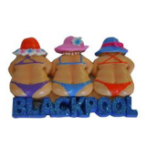 **magnet 3 Glitter Ladies 3d Blackpool**