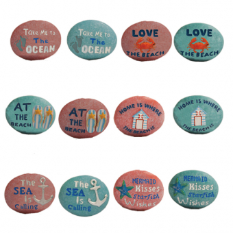 Magnet Pebbles Assorted