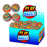 Marble Play Ball 6cm Display Boxed