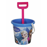 Bucket Frozen With Spade