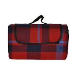 Red Tartan Picnic Blanket 150cm X 130cm