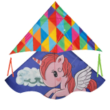 Kite 2 Asstd Unicorn / Rainbow
