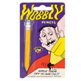 Joke Wooden Rubber Tip Pencil