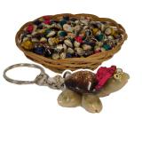 Shell Turtle Keyrings 50pc