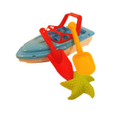 4pc Boat Sand Set