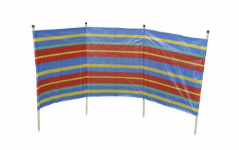 Windbreak 4 Pole Std Wood