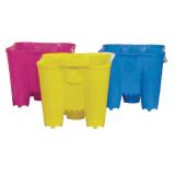 Bucket Castle 27cm Hot Colours