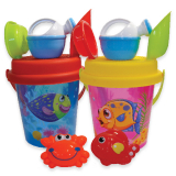 Transparent Sea Life Bucket Set
