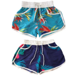 Girls Printed Surf Shorts 8-13