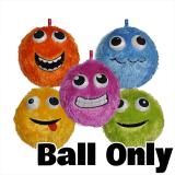 *early Buy* Furry Face Ball W/3d Eyes Ba