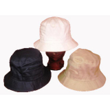 Hat Bucket Shape W/zip Pocket