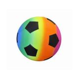 Deflated Rainbow Beach Soccer 23cm