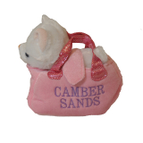 **plush Dog/unicorn In Bag *camber Sands