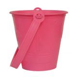 12cm Round Bucket Pink