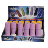 9 Led Plastic Torch Col