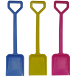 Spade 18 Inch Plastic Pink Blue Yellow