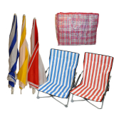 Beach Parasols Bags & Chairs