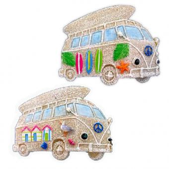 Magnet Sand Beach Bus