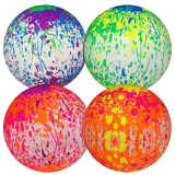 Deflated Paint Effect Ball 9inch
