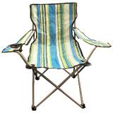 Striped Folding Chair 85cm With Carrybag