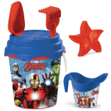 B/set Avengers 17cm + W/can