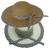 Hat Ladies 40cm Banded Wide Brim