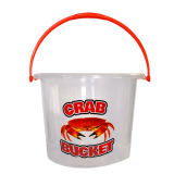 5 Litre Clear Crab Bucket