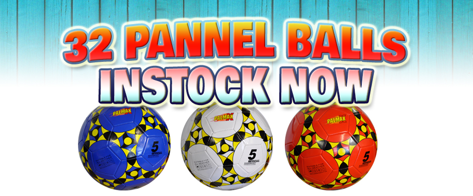 32 pannel balls in stock