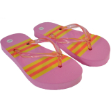 Shoe Striped Flipflop 10-2 Uk (28-35 Eu)