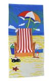 Deckchair Beach Towel 140cm X 70cm