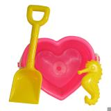 B/set Pink Heart & Mould - Spade