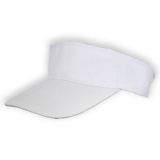 Ladies Visor White