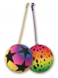 F/ball Rainbow Stars With Keychain 2astd